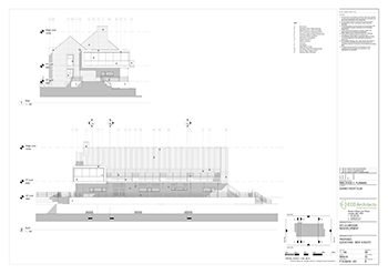 SYC Proposed Club House ELEVATIONS WEST SOUTH 350px
