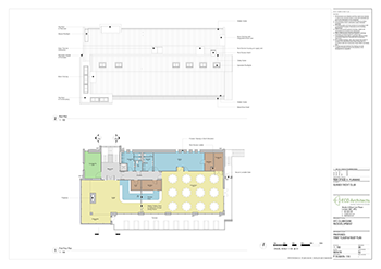 SYC Proposed Club House FIRST FLOOR and ROOF PLAN 350px