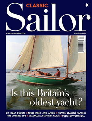 Classic Sailor Magazine Cover