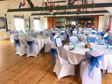 SYC Restaurant Wedding in blue
